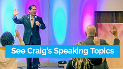 See Craig Speaking Topic